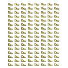 DIOR - arany 3D matricák