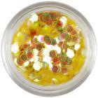 Mézarany konfettik - aquaelements hatszögek