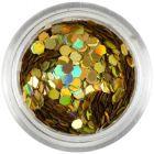 Hologrammos díszítő hatszög - arany, 2mm