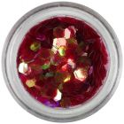 Hatszögek aquaelements - piros
