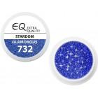 Extra Quality GLAMOURUS színes UV zselé - STARDOM 732, 5g