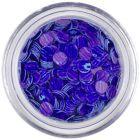 Flitter - kékeslila, lila csíkok