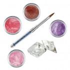 Shimmer II készlet - színes porcelánpor készlet