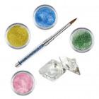 Shimmer I készlet - színes porcelánpor készlet