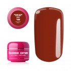 Gel Base One Color RED - Coffee Red 16, 5g