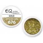 676 - Extra Quality Spider zselé - GOLD, 5g