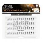 Tincses műszempillák 3D Individuals - Short Black