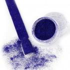 Glitteres díszítő por - Velvet Effect 11-ös, sötét kék, 3g