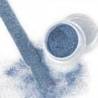 Glitteres díszítő por - Velvet Effect 16-es, szürkés kék, 3g