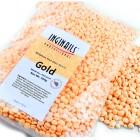 Kozmetikai paraffin viasz - gyöngyök – Gold, 500g