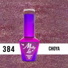 MOLLY LAC UV/LED gél lakk Wedding Dream and Champagne  - Choya 384, 10ml/gél lakk készítés