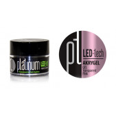 LED-tech - Akrygel gél - Transparent Pink, 9g