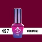 Molly lac gél lakk -  Antidepressant - Charming 497, 10ml