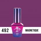MOLLY LAC UV/LED gél lakk Antidepressant - Magnetique 492, 10ml/gél lakk készítés