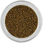 Körömdíszek - 0,5mm, borsózöld gyöngyök