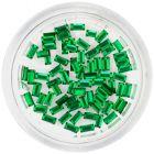 Díszítő kövek, téglalapok – smaragdzöld
