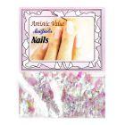 Gyöngyházfényes díszítő selyempelyhek - nail art